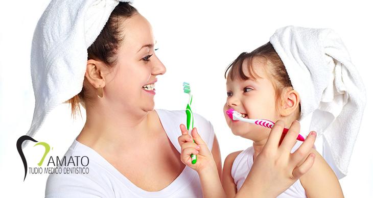 come preservare la salute dei denti dei vostri bambini
