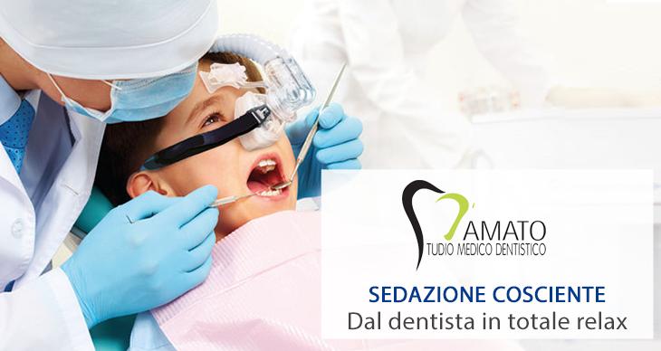 sedazione cosciente dentista avelllino